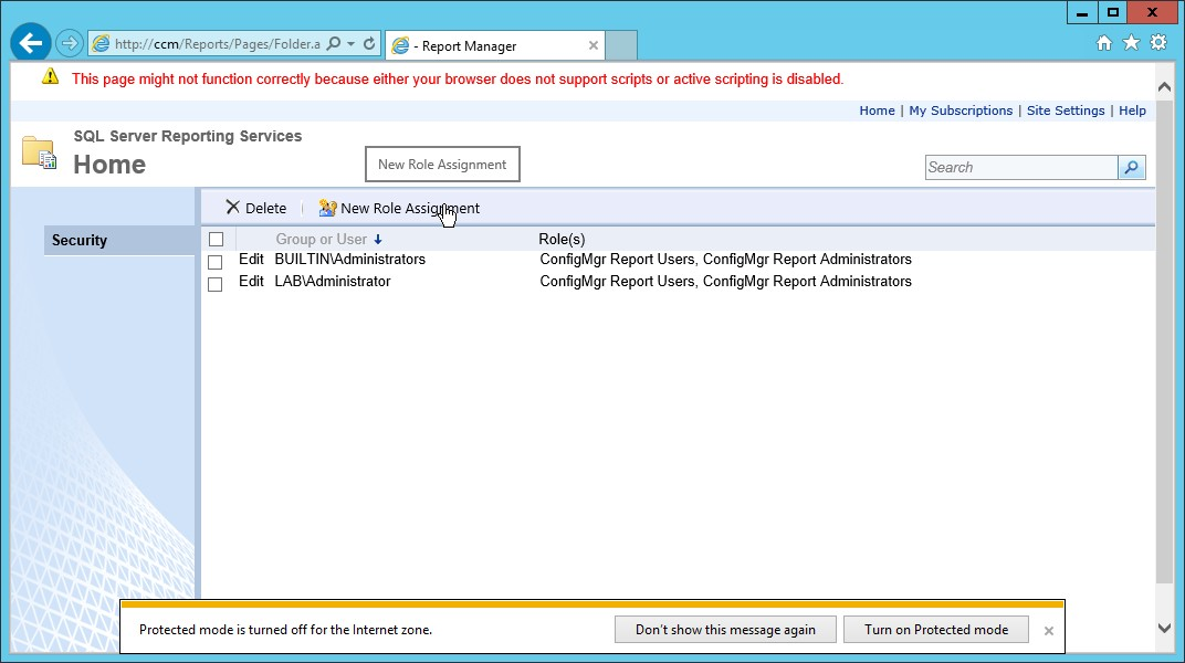 Configure Reporting in SCCM 2012 | Mai Ali's Technical Blog
